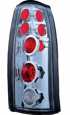 In Pro Carwear - Cadillac Escalade IPCW Taillights - Crystal Eyes - Crystal Clear - 1 Pair - CWT-CE303