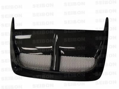 Seibon - Subaru Impreza Seibon CW Style Carbon Fiber Hood Scoop - HDS0405SBIMP-CW
