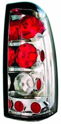 In Pro Carwear - GMC Sierra IPCW Taillights - Crystal Eyes - 1 Pair - CWT-CE3039C