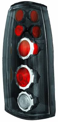 In Pro Carwear - Chevrolet Suburban IPCW Taillights - Crystal Eyes - 1 Pair - CWT-CE303CF