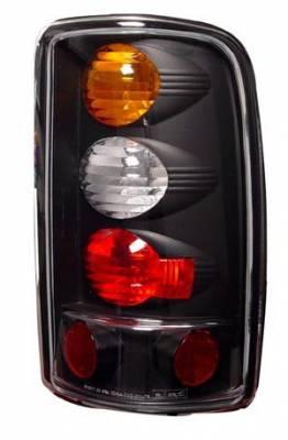 In Pro Carwear - GMC Yukon IPCW Taillights - Crystal Eyes - 1 Pair - CWT-CE304BA