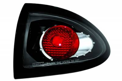 In Pro Carwear - Pontiac Sunfire IPCW Taillights - Crystal Eyes - Outer - 1 Pair - CWT-CE306CB