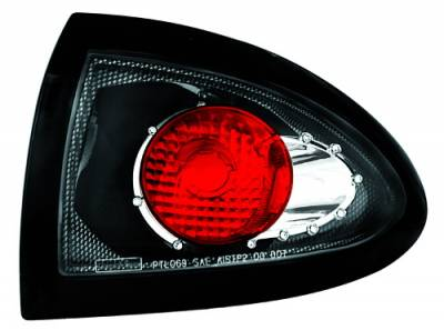 In Pro Carwear - Pontiac Sunfire IPCW Taillights - Crystal Eyes - Outer - 1 Pair - CWT-CE306CF