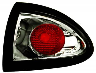 In Pro Carwear - Pontiac Sunfire IPCW Taillights - Crystal Eyes - Outer - 1 Pair - CWT-CE306CS