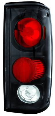 In Pro Carwear - Chevrolet S10 IPCW Taillights - Crystal Eyes - 1 Pair - CWT-CE309CB