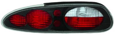 In Pro Carwear - Chevrolet Camaro IPCW Taillights - Crystal Eyes - 1 Pair - CWT-CE323CF