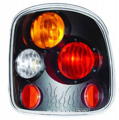 In Pro Carwear - GMC Sierra IPCW Taillights - Crystal Eyes - 1 Pair - CWT-CE325BA