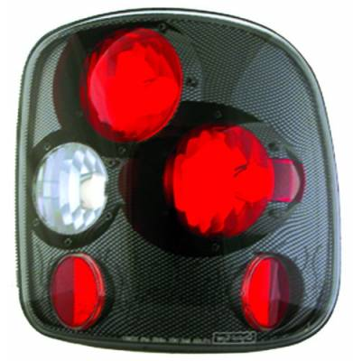 In Pro Carwear - Chevrolet Silverado IPCW Taillights - Crystal Eyes - 1 Pair - CWT-CE325CF