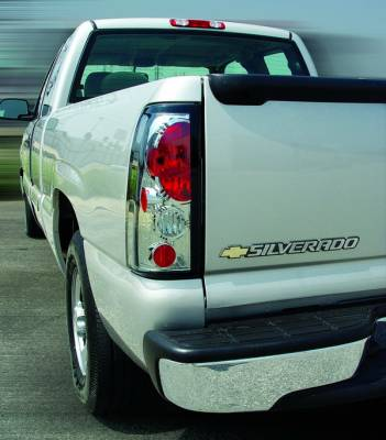 In Pro Carwear - Chevrolet Silverado IPCW Taillights - Crystal Eyes - 1 Pair - CWT-CE337C