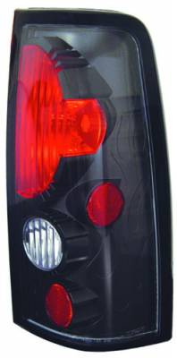 In Pro Carwear - Chevrolet Silverado IPCW Taillights - Crystal Eyes - 1 Pair - CWT-CE337CB