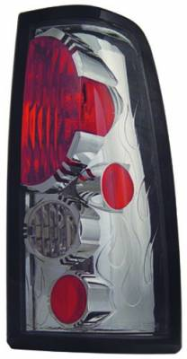 In Pro Carwear - Chevrolet Silverado IPCW Taillights - Crystal Eyes - 1 Pair - CWT-CE337CS