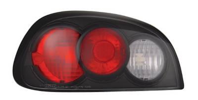In Pro Carwear - Pontiac Grand Am IPCW Taillights - Crystal Eyes - CWT-CE340CB