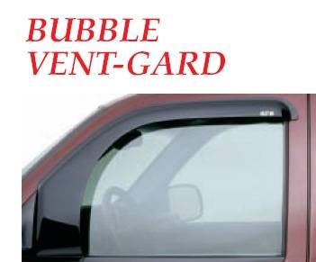GT Styling - Nissan Pickup GT Styling Bubble Vent-Gard Side Window Deflector