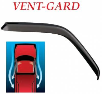 GT Styling - Mitsubishi Raider GT Styling Vent-Gard Side Window Deflector