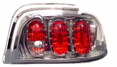 In Pro Carwear - Ford Mustang IPCW Taillights - Crystal Eyes - 1 Pair - CWT-CE519C