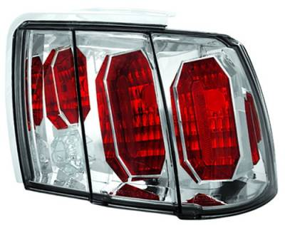 In Pro Carwear - Ford Mustang IPCW Taillights - Crystal Eyes - 1 Pair - CWT-CE521C