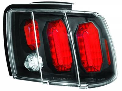 In Pro Carwear - Ford Mustang IPCW Taillights - Crystal Eyes - 1 Pair - CWT-CE521CB