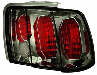 In Pro Carwear - Ford Mustang IPCW Taillights - Crystal Eyes - 1 Pair - CWT-CE521CS