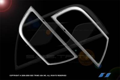 SES Trim - Lincoln Navigator SES Trim ABS Chrome Headlight Trim - HL103
