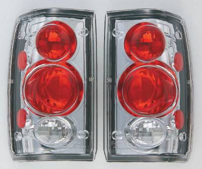 In Pro Carwear - Mazda B-Series Truck IPCW Taillights - Crystal Eyes - 1 Pair - CWT-CE804C