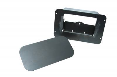 Hot Rod Deluxe - Chevrolet Silverado Hot Rod Deluxe Tailgate Handle Relocator Kit with Filler Plate - HR101