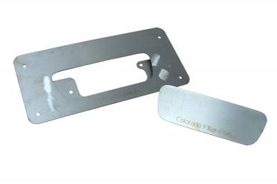 Hot Rod Deluxe - Chevrolet Colorado Hot Rod Deluxe Tailgate Handle Relocator Kit with Filler Plate - HR119