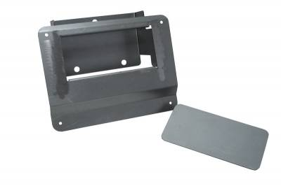 Hot Rod Deluxe - Chevrolet S10 Hot Rod Deluxe Tailgate Handle Relocator Kit with Filler Plate - HR120