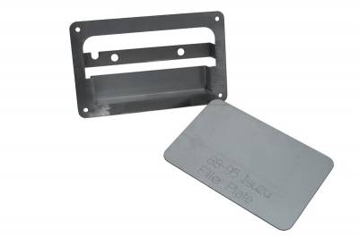Hot Rod Deluxe - Isuzu Pickup Hot Rod Deluxe Tailgate Handle Relocator Kit with Filler Plate - HR171