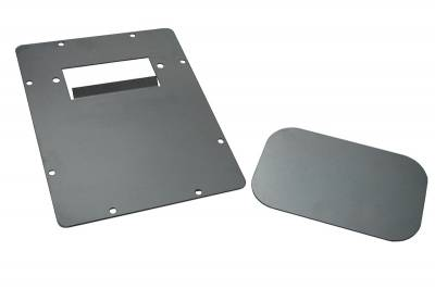 Hot Rod Deluxe - Mazda B-Series Truck Hot Rod Deluxe Tailgate Handle Relocator Kit with Filler Plate - HR175