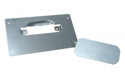 Hot Rod Deluxe - Toyota Tacoma Hot Rod Deluxe Tailgate Handle Relocator Kit with Filler Plate - HR190