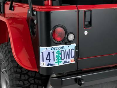 Warrior - Jeep Wrangler Warrior LED Corner Plate with Cutouts