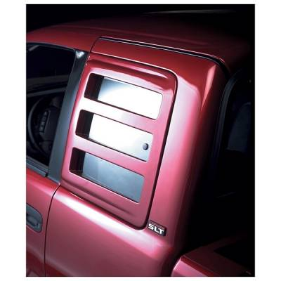 V-Tech - Dodge Dakota V-Tech Sidewinder Window Cover - 3037
