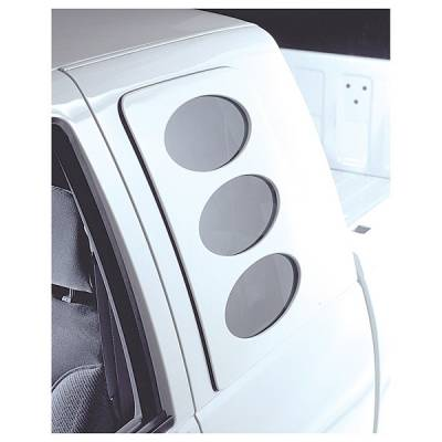 V-Tech - Ford F150 V-Tech Sidewinder Window Cover - Oval Style - 3231