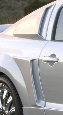 Xenon - Ford Mustang Xenon Urethane Quarter C-Scoop Kit - 12770