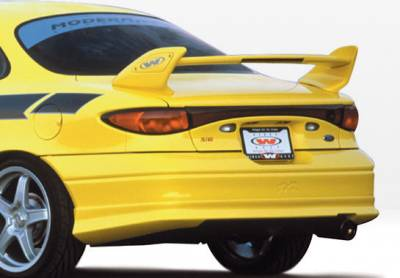 VIS Racing - Ford ZX2 VIS Racing W-Type Rear Lip - Polyurethane - 890379