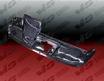 VIS Racing - Honda S2000 VIS Racing Custom Carbon Fiber Radiator Cooling Plate - 00HDS2K2DTNR-101C
