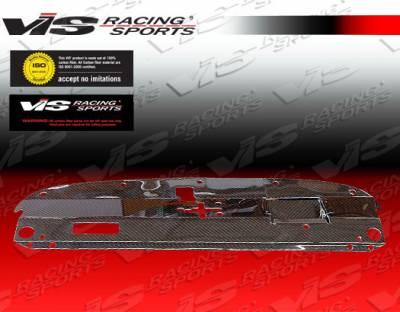 VIS Racing - Lexus IS VIS Racing Custom Carbon Fiber Radiator Cooling Plate - 00LXIS34DCUS-101C