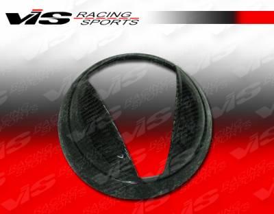 VIS Racing - Mini Cooper VIS Racing OEM Style Carbon Fiber Headlight Covers - 02BMMC2DOE-HLC
