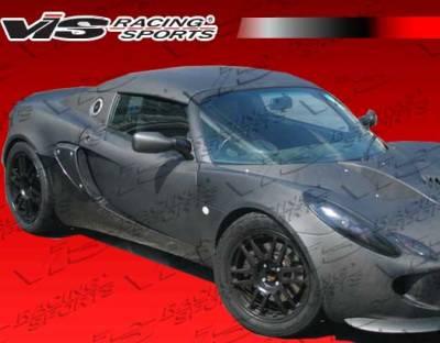 VIS Racing - Lotus Elise VIS Racing OEM Style Carbon Fiber Side Vent Cover - 02LTELI2DOE-019C