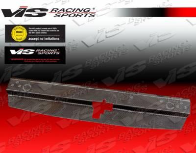 VIS Racing - Mitsubishi Lancer VIS Racing Custom Carbon Fiber Radiator Cooling Plate - 03MTEV84DCUS-101C