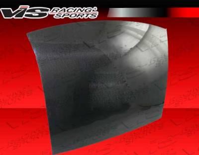 VIS Racing - Nissan 350Z VIS Racing OEM Style Carbon Fiber Roof Top Cover - 03NS3502DOE-030C