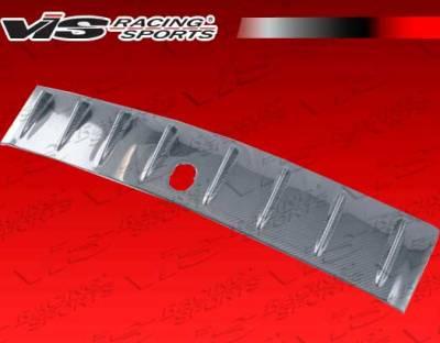 VIS Racing - Mitsubishi Lancer VIS Racing Custom Carbon Fiber Voltex Generator - 08MTEV104DCUS-043C