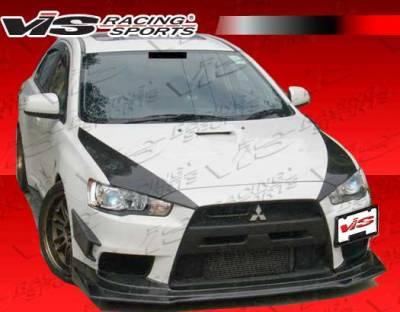 VIS Racing - Mitsubishi Lancer VIS Racing GT Style Carbon Fiber Bumper Scoops - 08MTEV104DGT-131C