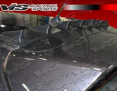 VIS Racing. - Subaru WRX VIS Racing Custom Vortex Generator - 08SBWRXHBCUS-043
