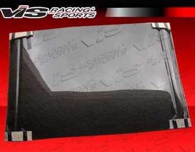 VIS Racing - Honda Del Sol VIS Racing JDM-Spec OEM Style Carbon Fiber Hard Top - 93HDDEL2DOE-030C
