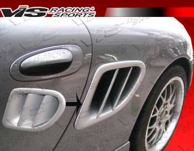 VIS Racing - Porsche Boxster VIS Racing VTX Side Intake Scoops - 97PSBOX2DVTX-019