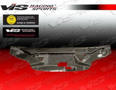 VIS Racing - Nissan S15 VIS Racing Carbon Fiber Radiator Cooling Plate - 99NSS152DCUS-101C