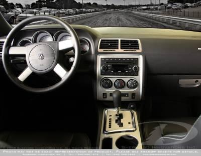Sherwood - Dodge Challenger Sherwood 2D Flat Dash Kit
