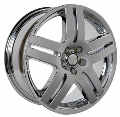 Moore - 17 Inch Chrome - 4 Wheel Set