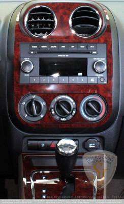 Sherwood - Jeep Compass Sherwood 2D Flat Dash Kit